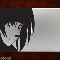 Naruto Sasuke Uchiha Kakashi Ninja Decals Stickers For Macbook 13 Pro Air Decal
