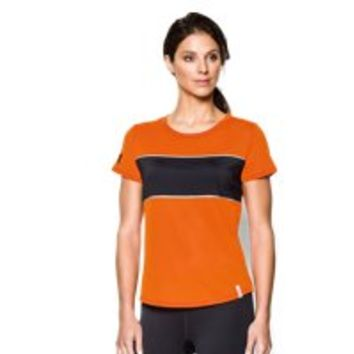 Under Armour Women's Tough Mudder UA Fly Fast Mesh Short Sleeve