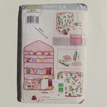 Butterick 4521 Designer Sewing Accessories Sewing Pattern UNCUT