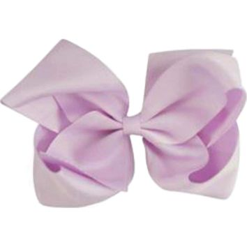Grosgrain Boutique Hairbow, Lavender
