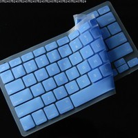 Generic Blue Keyboard Silicone Cover Skin for MacBook/MacBook Pro 13-Inch, 15-Inch, 17-Inch Aluminum Unibody (KBC-MP-Blue)