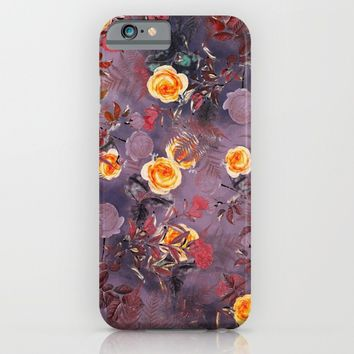flowers art iPhone & iPod Case by jbjart