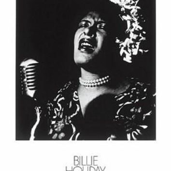 Billie Holiday Unknown Art Print