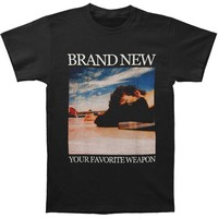 Brand New Men's  Your Favorite Weapon T-shirt Black