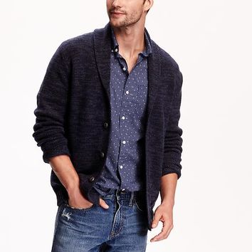 Old Navy Mens Shawl Collar Cardigan