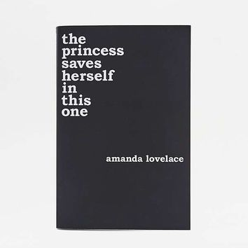 the princess saves herself in this one By Amanda Lovelace   Urban Outfitters