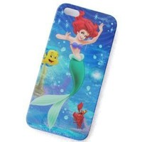 Little Mermaid Hard Cover Case for iPhone 5