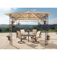 Sunjoy Target Sun Gazebo Sunshade Replacment Fabric
