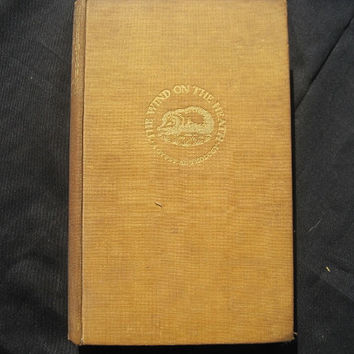 1930 The Wind on the Heath A Gypsy Anthology Chosen by John Sampson Hardcover No Dust Jacket