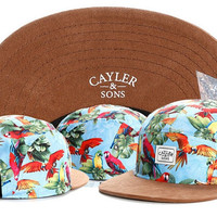 Fashion Brand PARADISE 5 panel cap CAYLER SONS adjustable baseball cap snapback hat deerskin for men women sports hip hop cap