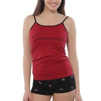 South Carolina Gamecocks Women's Allover Print Boyshorts & Cami Pajama Set – Garnet