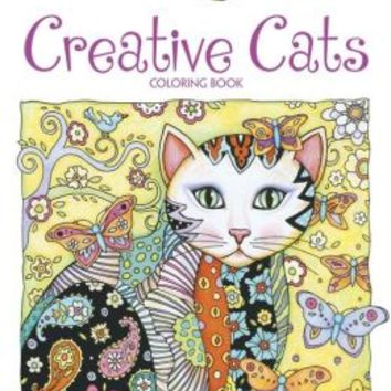 Creative Haven Creative Cats Coloring From Barnes Noble
