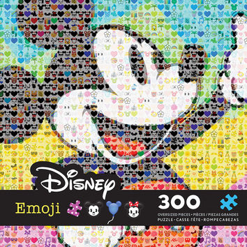 Disney Mickey Mouse Emoji 300 Pieces Jigsaw Puzzle Ceaco New with Box