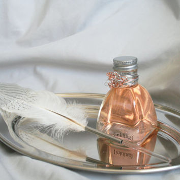 Tigress -pure perfume & essential oils, alcohol free, 2oz inkwell, feather quill applicator. Long lasting oil fragrance. Handmade