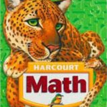 Harcourt Math Vocabulary Cards with Teacher's Activity Guide Grade 5