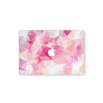 MacBook Cover MacBook Decal MacBook Skin Top Front Lid MacBook Sticker Air/Pro/Retina Touch Bar 11 12 13 15 17 inch 3M Vinyl Pink Triangles