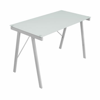 Exponent Office Desk White by Lumisource