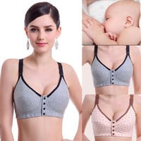 New Pregnant Womens Nursing Bra Underwear Maternity Breast Feeding Bras = 1945848196