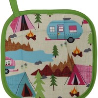Collisionware Handmade Camping Pot Holder