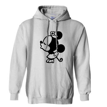Mickey minnie couple women Hoodie for Mens Hoodie and Womens Hoodie *