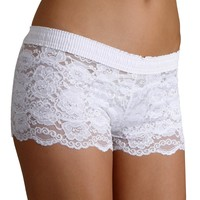 FOXERS - Bridal Lace Boxers