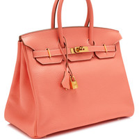 35Cm Crevette Clemence Leather Birkin by Heritage Auctions Special Collections for Preorder on Moda Operandi