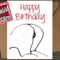 Ass-up (Pink Pussy) - Happy Birthday - ILoveYourCock.com