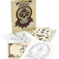Skulls What Do You Ink? Postcard Set by Chronicle Books from ModCloth