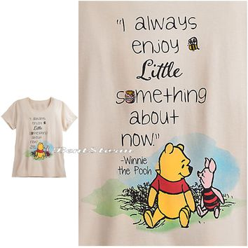Licensed cool WINNIE THE POOH Bear & PIGLET TEE SHIRT For WOMEN PLUS SIZE 3X 4X DISNEY STORE