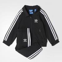 adidas Firebird Track Suit - Black | adidas US
