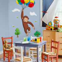 Curious George Wall Decal at AllPosters.com