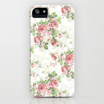 SOUTHERN BELLE FLORAL  iPhone & iPod Case by Madisyn Nicole