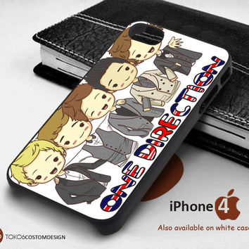 One Direction Cute Cartoon for iPhone 4/4S, iPhone 5/5S, iPhone 6, iPod 4, iPod 5, Samsung Galaxy Note 3, Galaxy Note 4, Galaxy S3, Galaxy S4, Galaxy S5, Galaxy S6, Phone Case