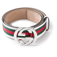 Gucci Striped Belt