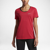 The Nike Dry Women's Training T-Shirt.