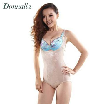 Lady Corset Slimming Suit Shapewear Body Shaper Underwear Bra Up Women Tummy Control Underbust Vest Bodysuits Plus Size XXXL