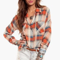 Fancy Lumberjack Blouse