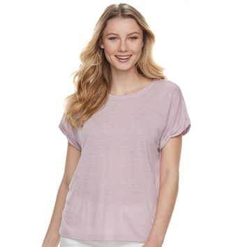 Juniors' Mudd® Heathered Tee