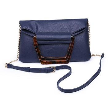 Moda Luxe Navy Convertible Purse/Clutch