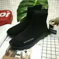Balenciaga Fashion Women's Casual High-tops Boots Shoes H-CSXY