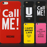 Call me mobile phone case for iPhone 7 7 plus iphone 5 5s SE 6 6s 6 plus 6s plus + Nice gift box 71501