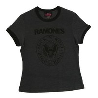 Womens Ramones Rock N Roll High School T-Shirt