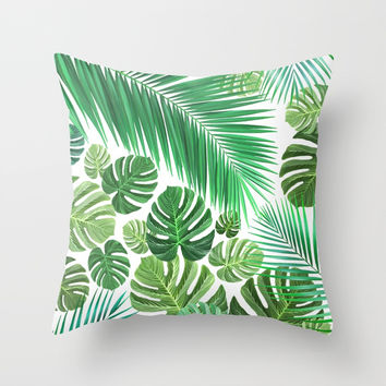 Jungle Fever Throw Pillow by exobiology