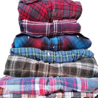 Unisex Vintage Mystery Flannel Hipster Shirts All Styles & Sizes In Stock! Woman or Man!