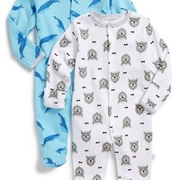 Infant Boy's Rosie Pope Graphic Cotton One-Piece (Set of 2)