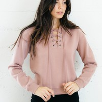 Ellie Sweater - Mauve
