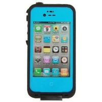 New Generation Tough Protective Waterproof Plastic Case for Iphone 4/4s (Blue)