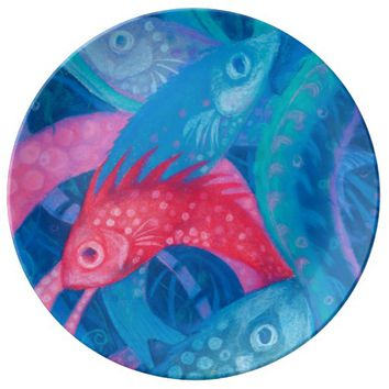 The Spawning Porcelain Plate