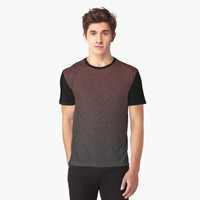 'Soft Textured Red and Black Gradient' Graphic T-Shirt by ChessJess