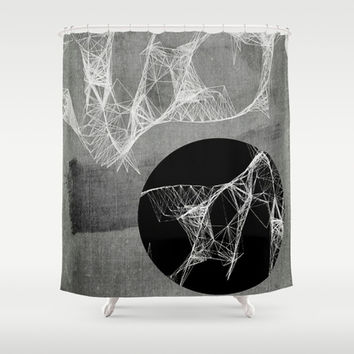 Webbed Shower Curtain by DuckyB (Brandi)